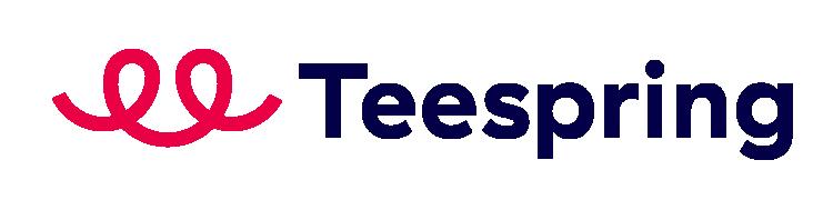 Teespring logo Bán áo thun là gì ? các platform bán áo thun kiếm tiền phổ biến hiện nay 2021