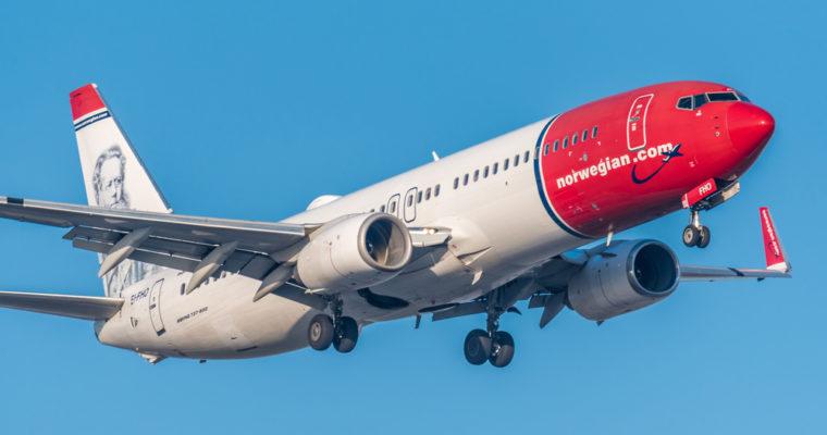 norwegian air plane jet Giám đốc điều hành của Norwegian Air ra mắt sàn giao dịch Bitcoin