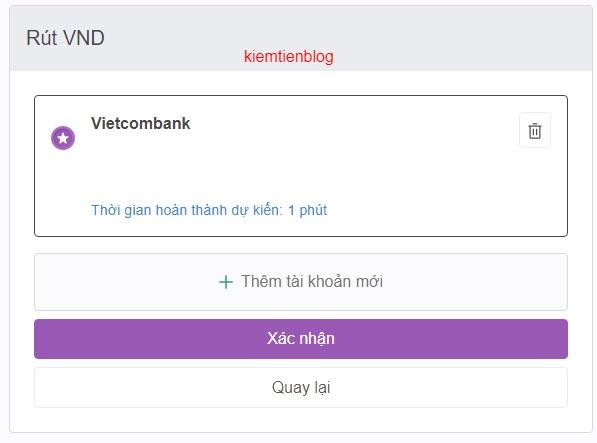 rut tien remitano3 Sàn Remitano là gì? hướng dẫn đăng ký & xác minh Remitano và cách rút tiền từ Remitano về Vietcombank update 2021