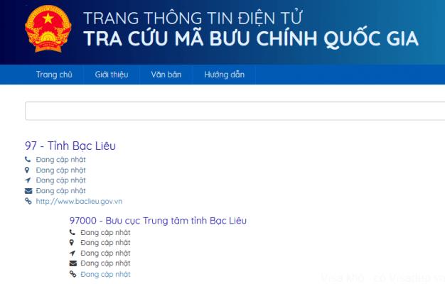 mã bưu chính zip code 626x400 1 Tra cứu mã bưu chính (Zip Code) 63 tỉnh Việt Nam update mới nhất [hienthinam]