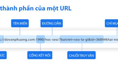 Thanh Phan Cua Url