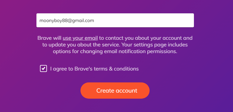 add email brave publisher